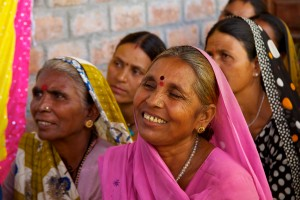 Poor, rural women in the central Indian state of Madhya Pradesh attending a skills training programme on dairy farming by the NGO I work for, Hand in Hand. As always, their smiles, determination and the colours are simply awe-inspiring.